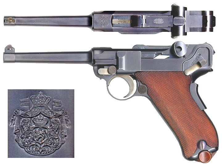 M1900 Bulgarian Luger