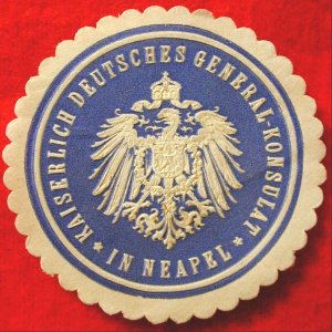 Kaiserlich Deutsches General-Konsulat seal