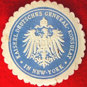Kaiserliche Deutsches General Konsulat - In New York
